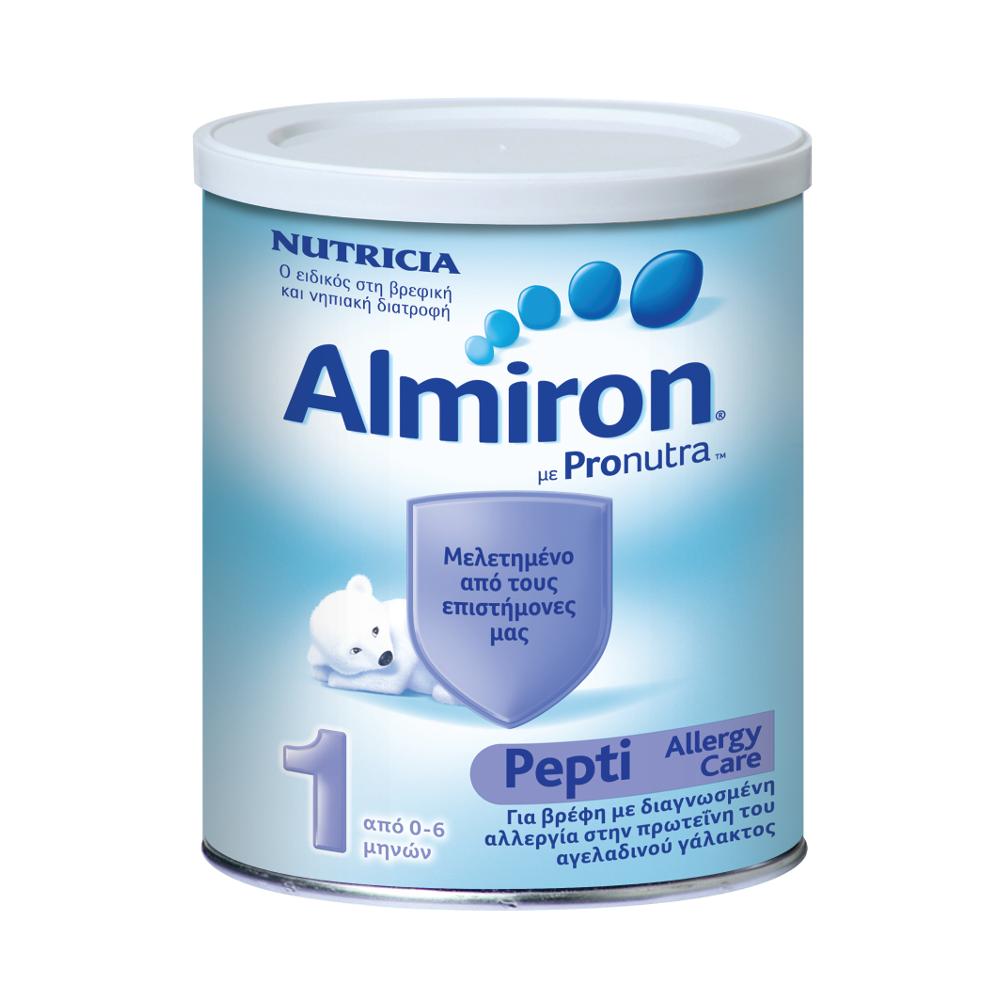 ALMIRON Pepti 1, Γάλα κατά της Αλλεργίας στην Πρωτεΐνη Γάλακτος - 450gr