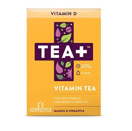 VITABIOTICS Tea+ Vitamin D Vitamin Tea - 14bags