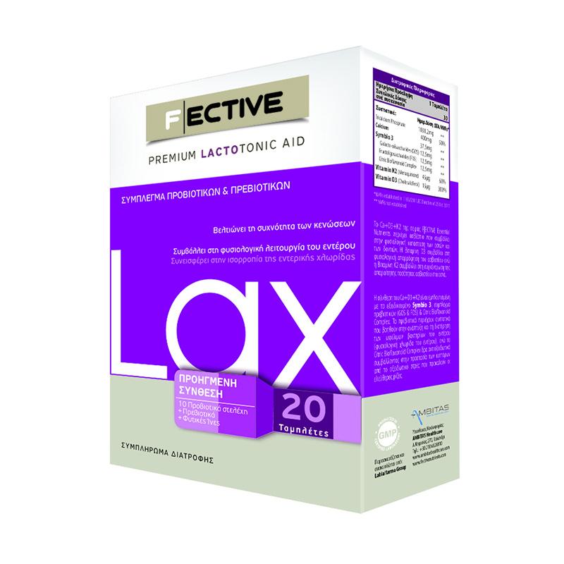 F ECTIVE Lactotonic Lax 20tabs