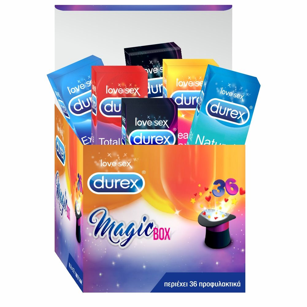 DUREX Προφυλακτικά Magicbox Limited Edition 36τμχ