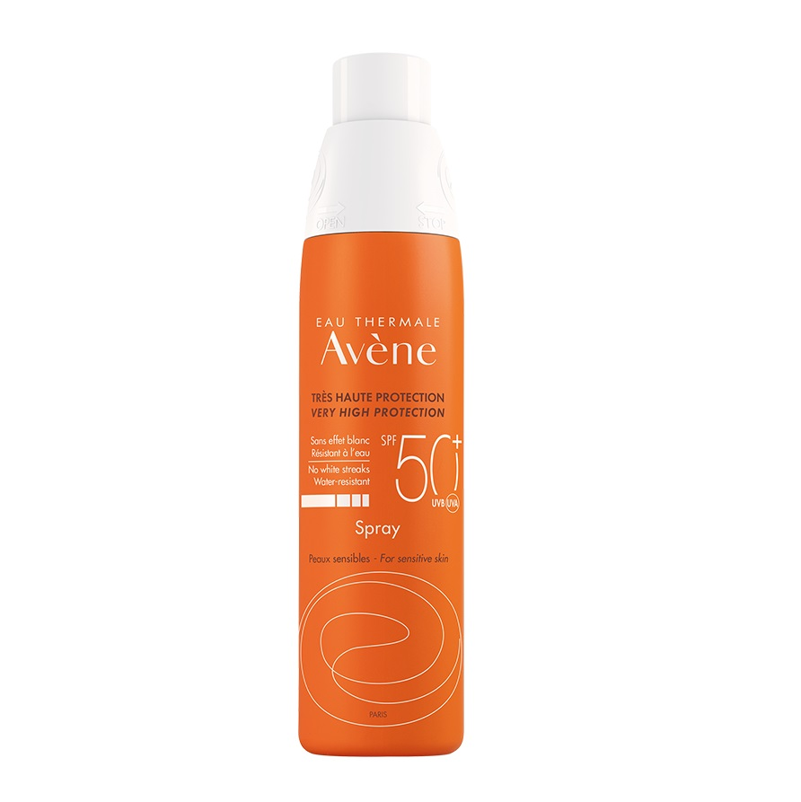 AVENE Spray SPF50+, Αντηλιακό Σπρέυ - 200ml