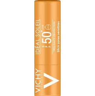 VICHY Ideal Soleil Stick για τις Ευαίσθητες Ζώνες SPF50+, 9gr