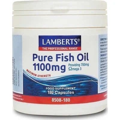 LAMBERTS Pure Fish Oil 1100mg - 180caps