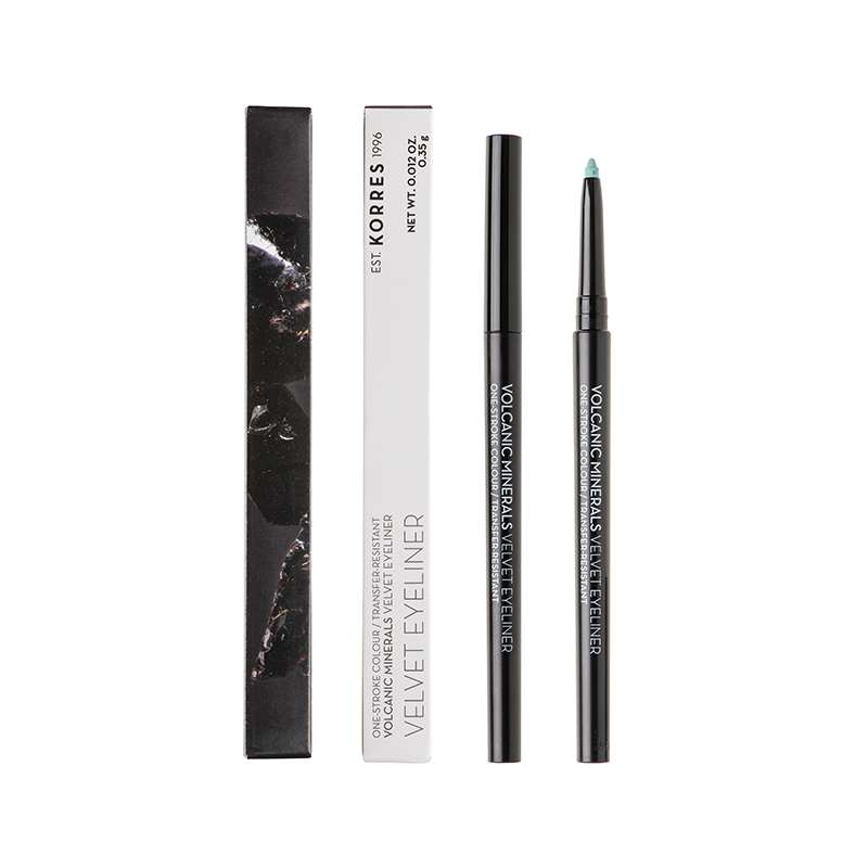 KORRES Volcanic Minerals Velvet Eyeliner, 35 Vanilla Mint - 35gr