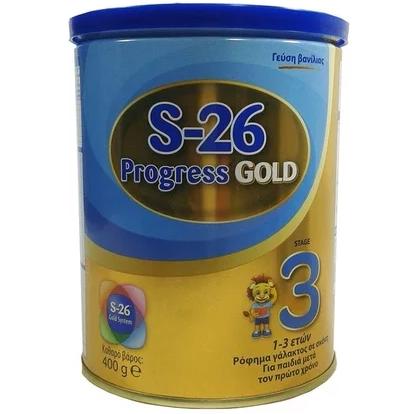 WYETH S-26 Gold Progress 3 Γάλα Ανάπτυξης Από 1 Έτους 400gr