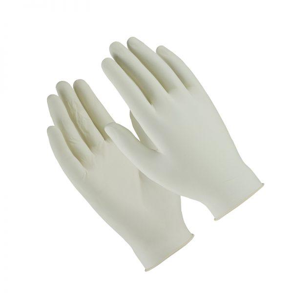 SYNDESMOS Γάντια Λάτεξ Μιας Χρήσης Χωρίς Πούδρα, Medium - 100τεμ