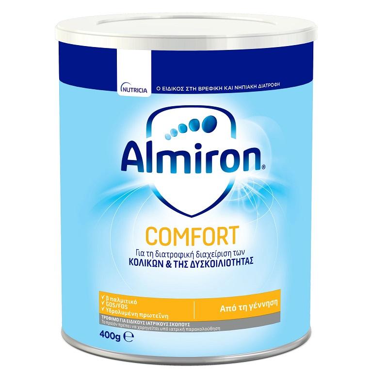 ALMIRON Comfort 1, Γάλα για την Αντιμετώπιση της Δυσκοιλιότητας - 400gr