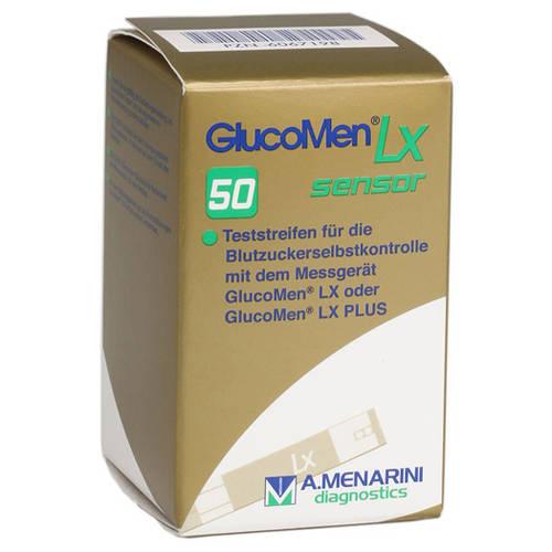 GLUCOMEN LX Sensor, Ταινίες Μέτρησης Σακχάρου - 50τεμ