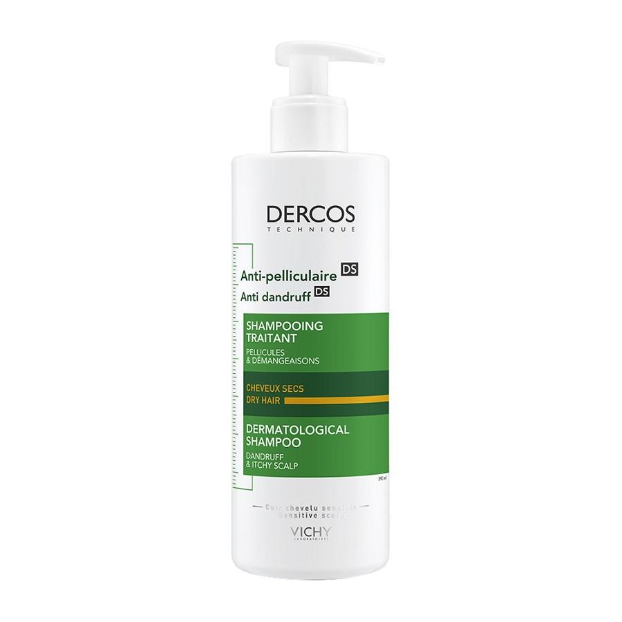 VICHY Dercos Anti Dandruff, Αντιπιτυριδικό Σαμπουάν για Ξηρά Μαλλιά - 390ml