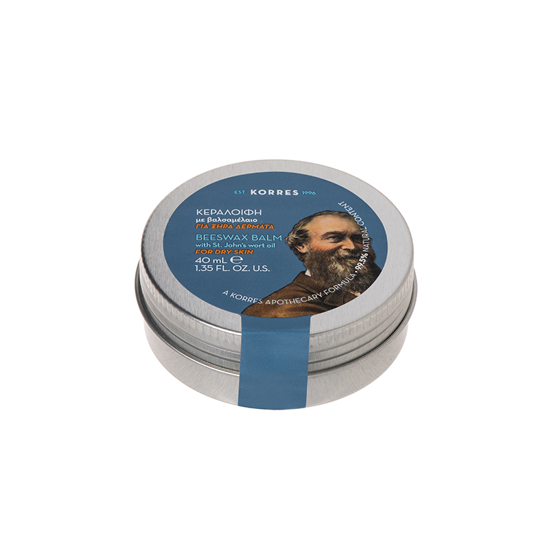KORRES Beeswax Balm with St Johns Wort Oil, Κεραλοιφή με Βαλσαμέλαιο - 40ml