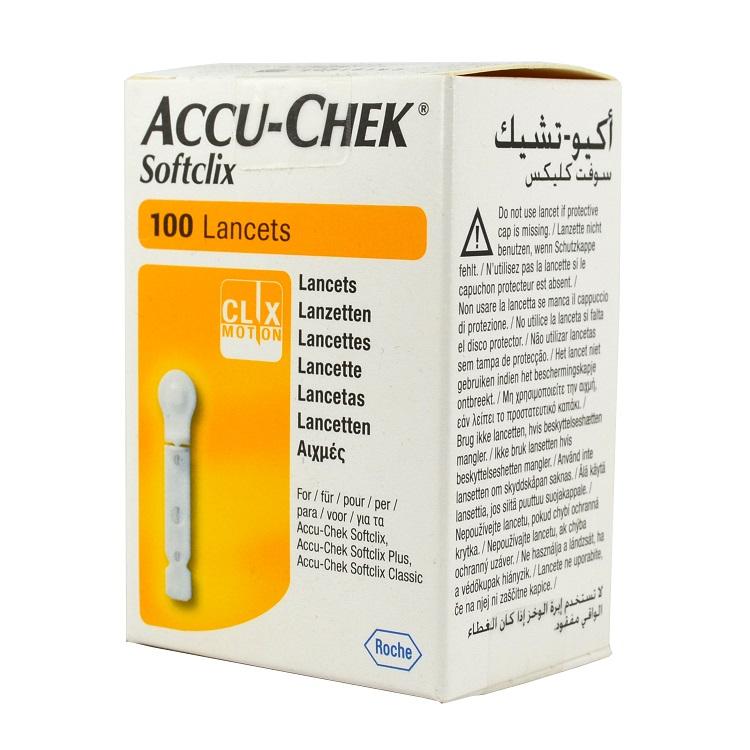 ROCHE Accu - Chek Softclix Lancets - 100 βελόνες