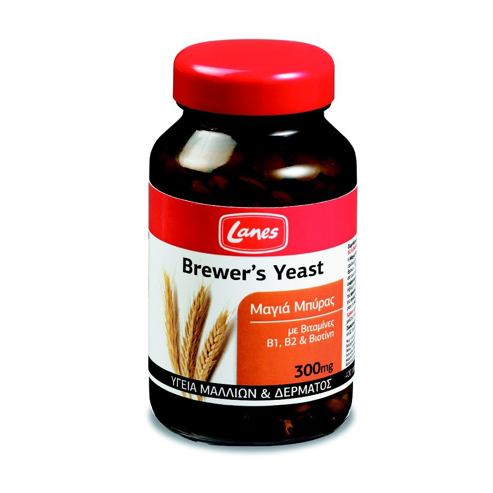LANES Brewer΄s Yeast 300mg 400tabs