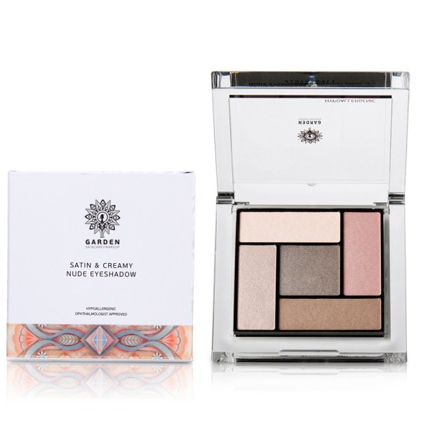 GARDEN Satin & Creamy Nude Eyeshadow  No 1 - 6gr