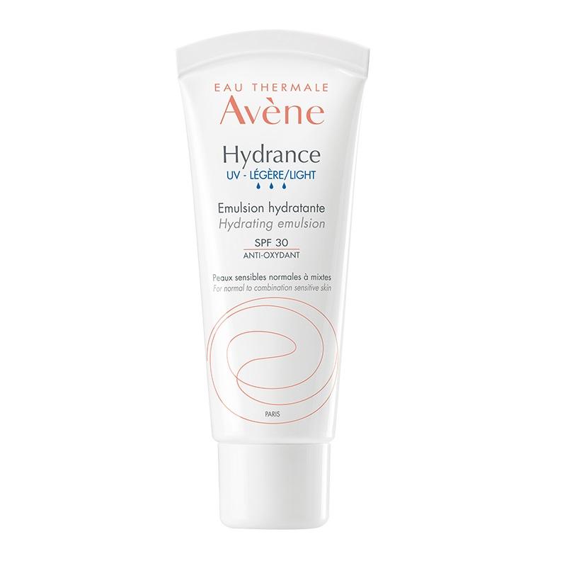 AVENE Hydrance UV Légère Emulsion SPF30, Ευαίσθητο Κανονικό/ Μικτό Δέρμα - 40ml