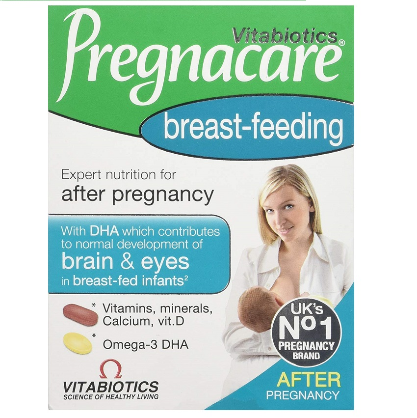 VITABIOTICS Pregnacare Breast-Feeding 56Tabs & 28Caps