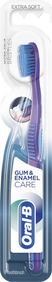 ORAL B  Gum & Enamel Care ExtaSoft Οδοντόβουρτσα 1Τμχ