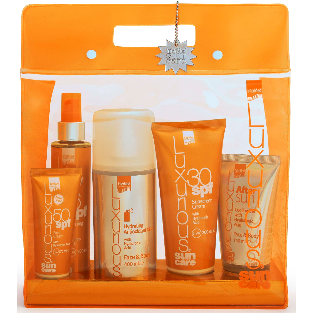 INTERMED Luxurious Suncare High Protection Pack, Πακέτο 5 Προϊόντων