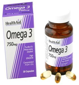 HEALTH AID Omega-3 750mg - 60caps