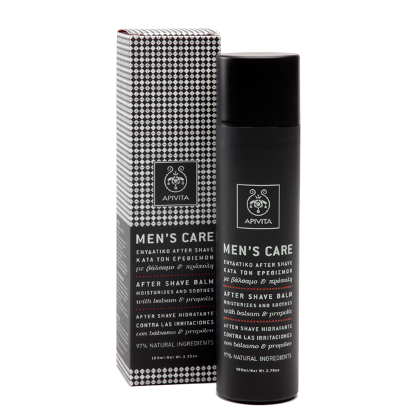 APIVITA Men΄s Care Ενυδατικό After Shave 100ml