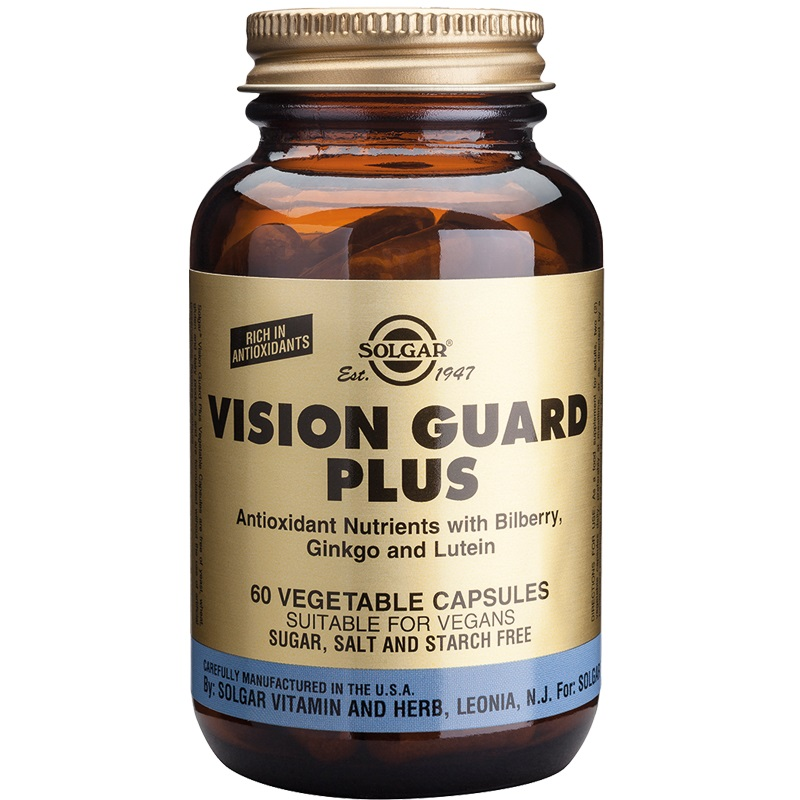SOLGAR Vision Guard Plus - 60veg.caps