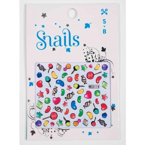 SNAILS Stickers Candy Blast