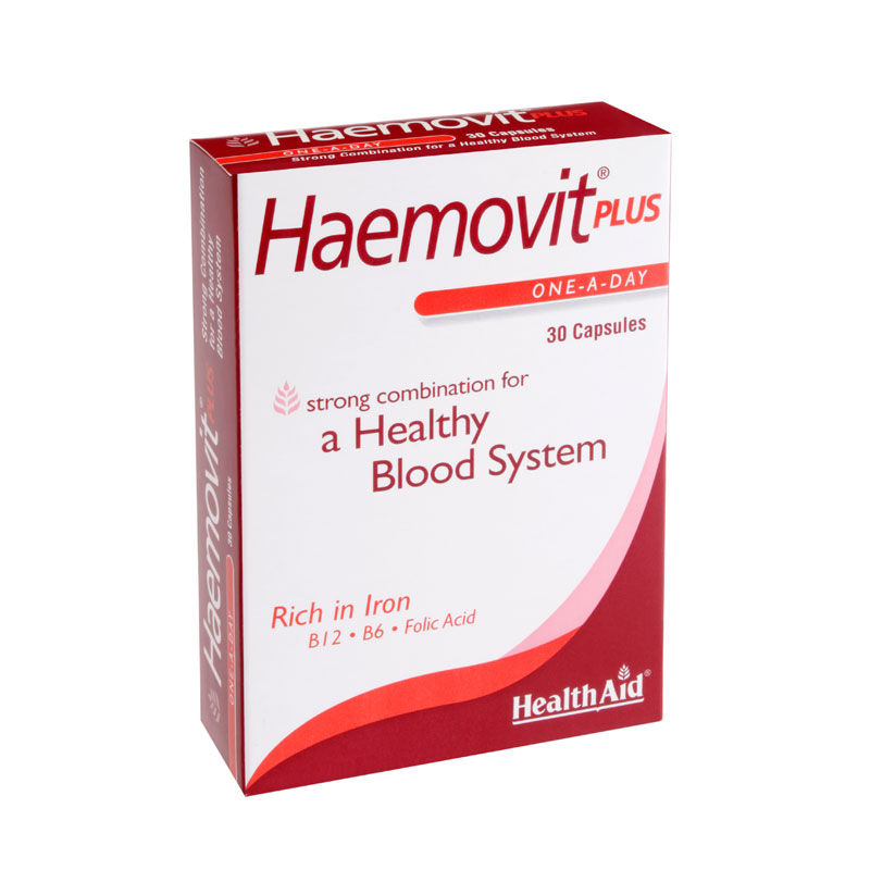 HEALTH AID Haemovit Plus - 30Caps