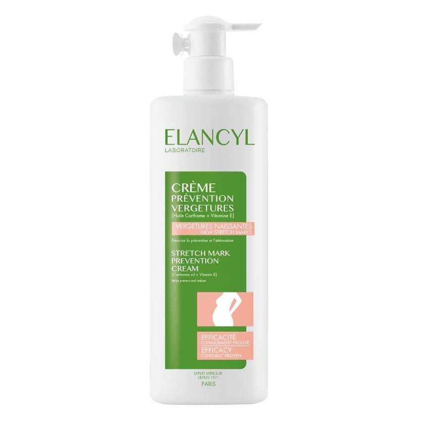 ELANCYL Creme Prevention Vergetures, Κρέμα Πρόληψης των Ραγάδων - 500ml