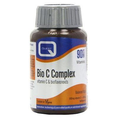 QUEST Bio C Complex Bioflavonoids 500mg - 90tabs