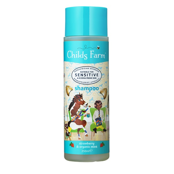 CHILDS FARM Shampoo, Strawberry & Organic Mint, Παιδικό Σαμπουάν - 250ml