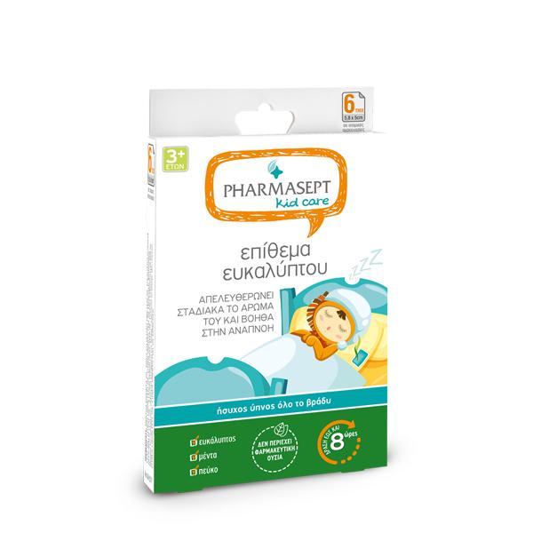 PHARMASEPT Kids Care Επίθεμα Ευκάλυπτου 6τμχ