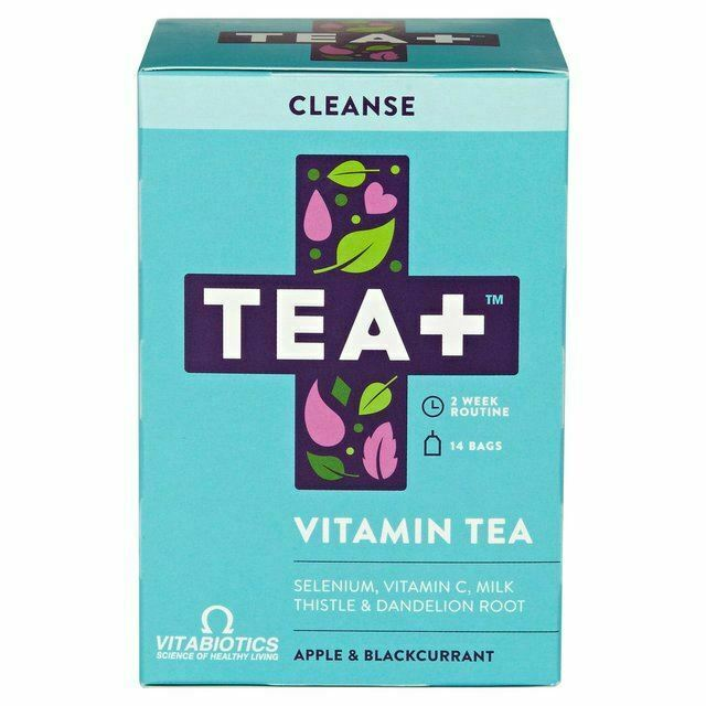 VITABIOTICS Tea+ Cleanse Vitamin Tea - 14bags