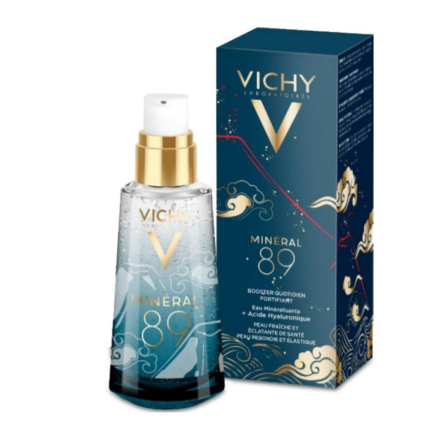 VICHY Mineral 89 Limited Edition,  Kαθημερινό Booster Ενδυνάμωσης Προσώπου - 50ml