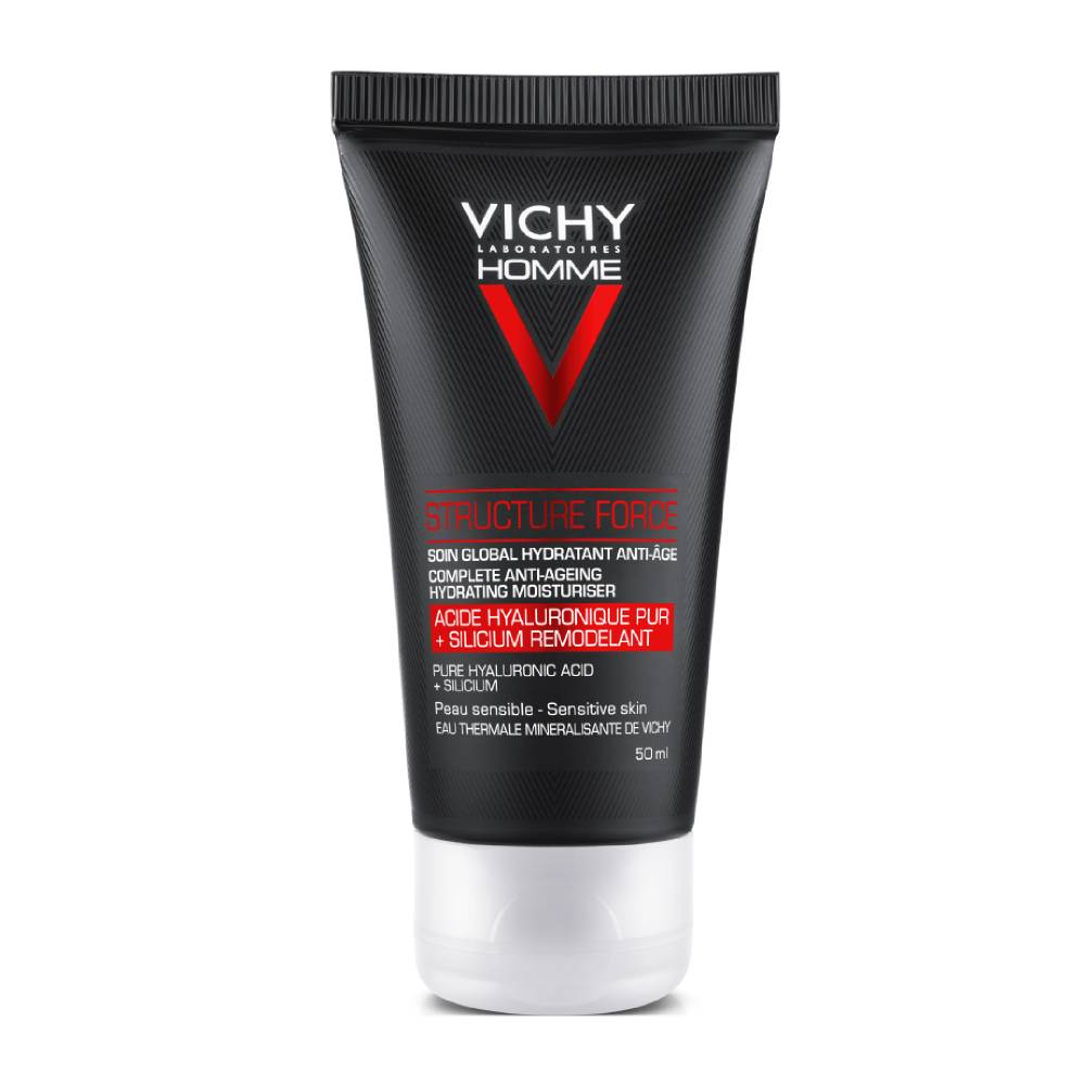 VICHY Homme Structure Force, Aντι-γηραντική Φροντίδα για Άνδρες - 50ml