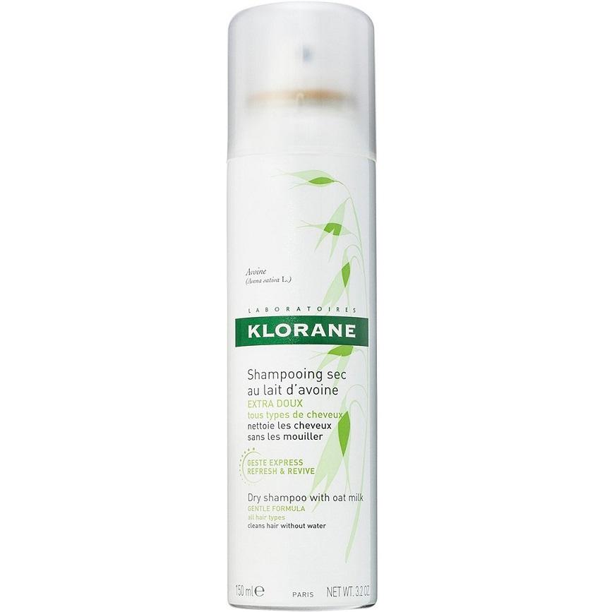 KLORANE Dry Shampoo Lait Avoine, Ξηρό Σαμπουάν Spray με Γάλα Βρώμης - 150ml