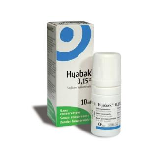 THEA Hyabak Solution 0.15%, Οφθαλμικές Σταγόνες - 10ml