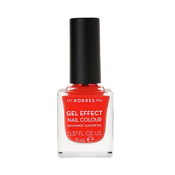 KORRES Βερνίκι Νυχιών Gel Effect Nail Colour No45 Coral 11ml
