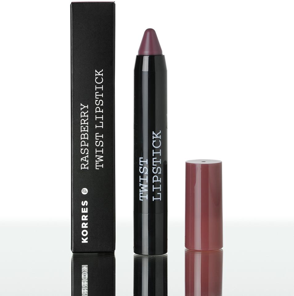 KORRES Βατόμουρο Twist Lipstick Dramatic - 2,50ml