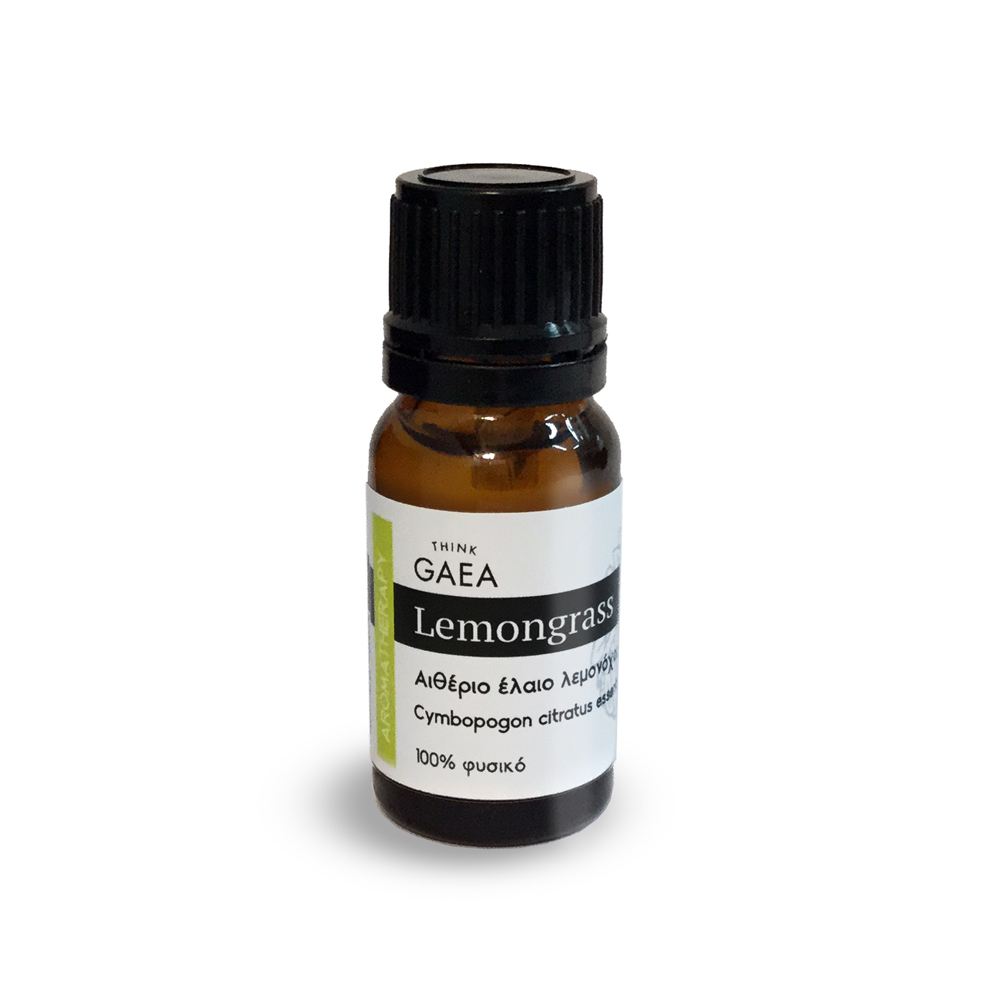 THINK GAEA Lemongrass Αιθέριο Έλαιο Λεμονόχορτου 10ml