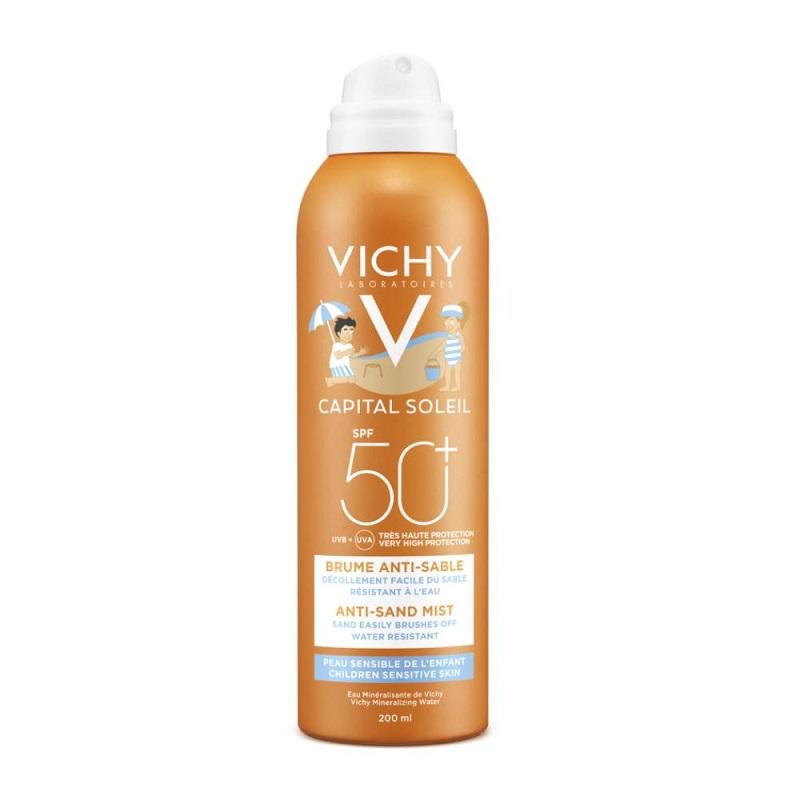 VICHY Ideal Soleil SPF 50+ Παιδικό Αντηλιακό Σπρέι για Πρόσωπο & Σώμα - 200ml