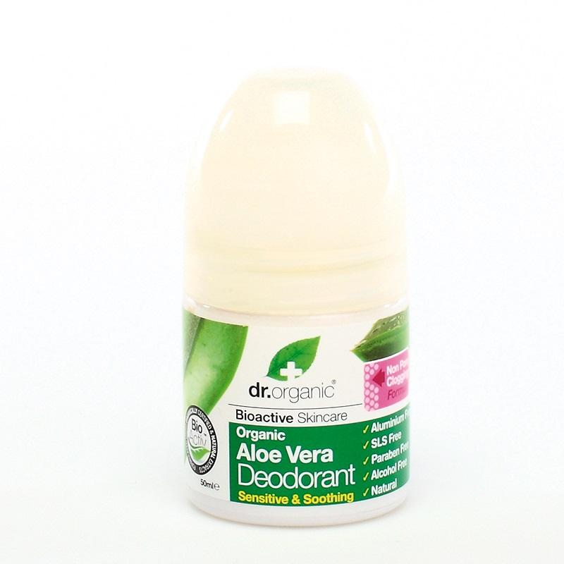 DR.ORGANIC Aloe Vera Deodorant,  Αποσμητικό με Βιολογική Αλόη Βέρα - 50ml