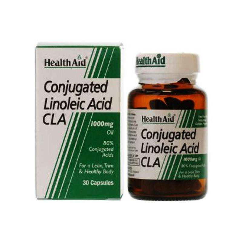 HEALTH AID Conjugated Linoleic Acid 1000mg - 30caps