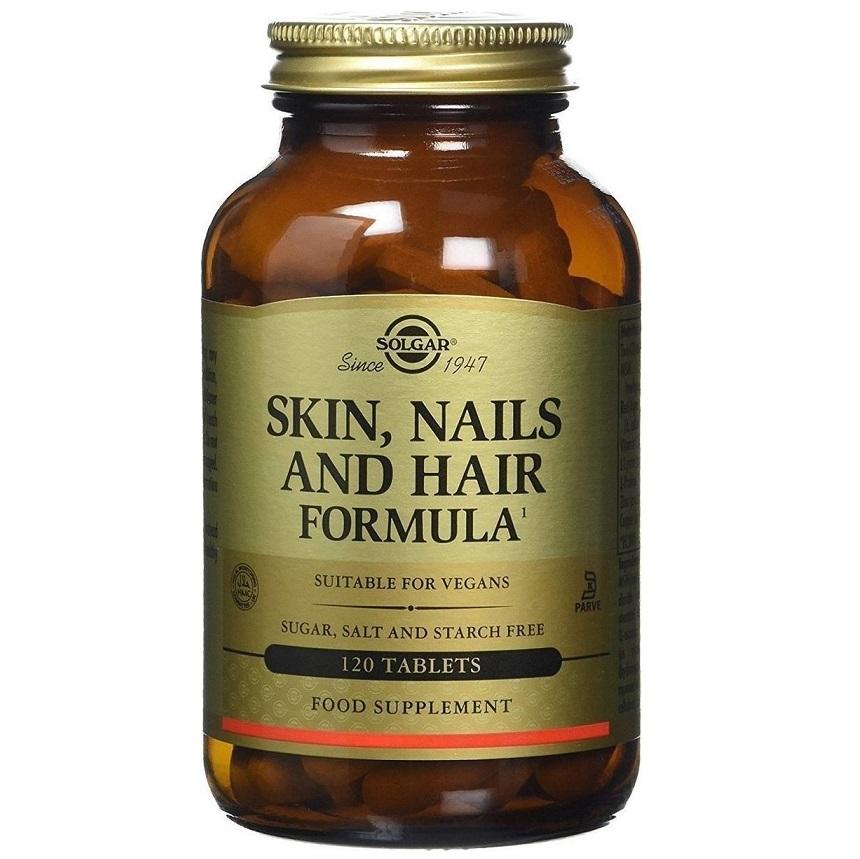 SOLGAR Skin Nails & Hair - 120tabs