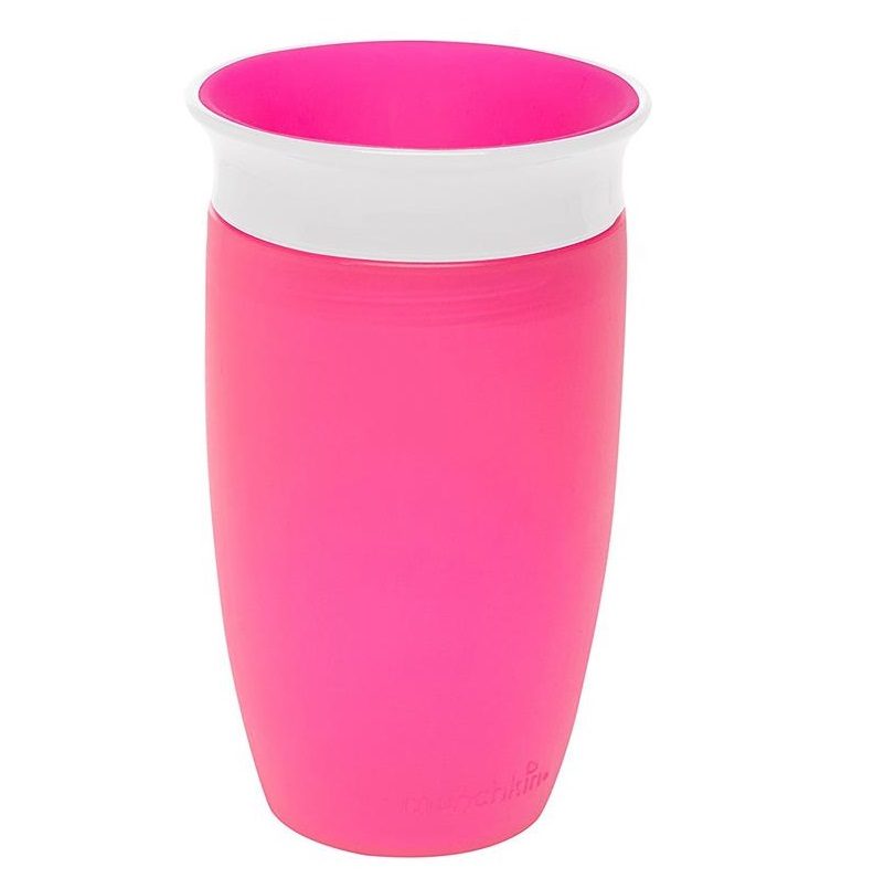 MUNCHKIN Miracle 360 Sippy Cup Pink - 296ml