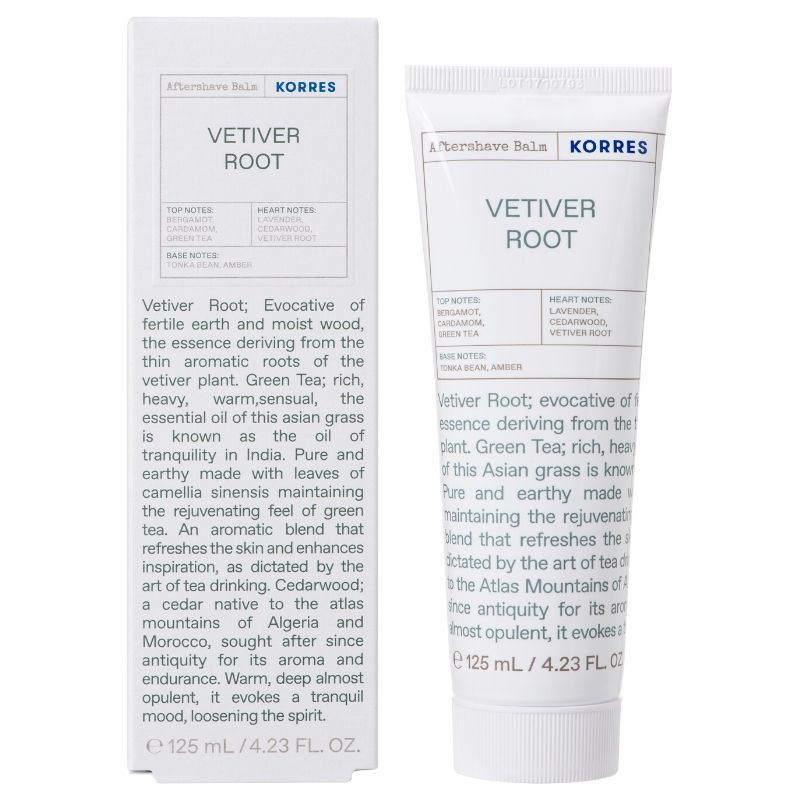 KORRES After Shave Balm Vetiver Root Green Tea Cedarwood - 125ml