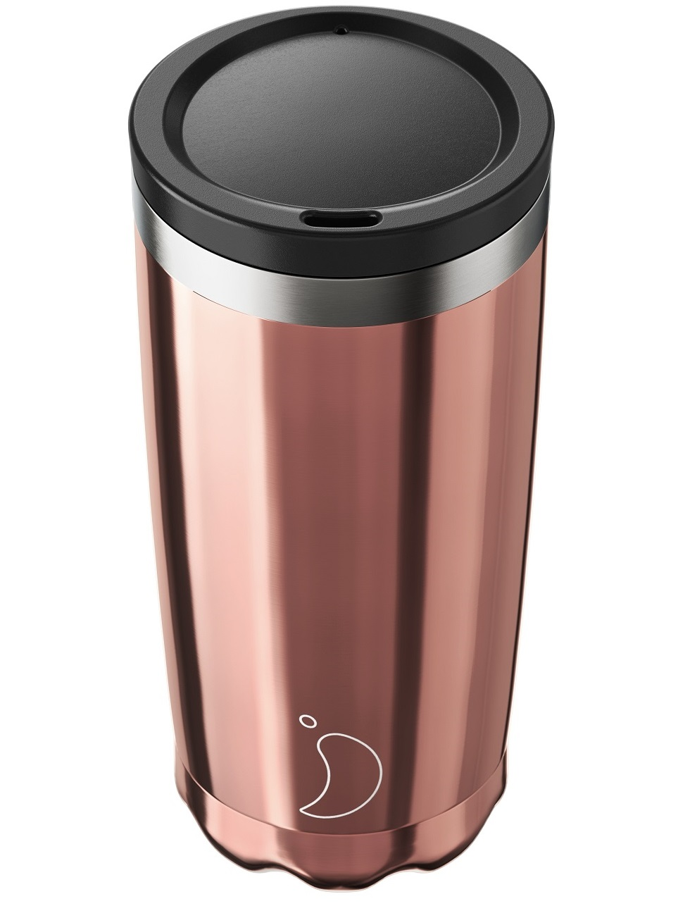 CHILLYS BOTTLES Coffee Cup, Κούπα- Θερμός, Rose Gold - 500ml