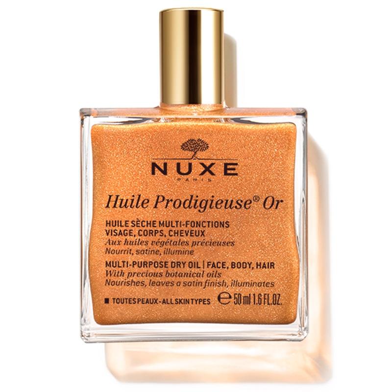 NUXE Huile Prodigieuse Or, Ιριδίζον Ξηρό Λάδι Ενυδάτωσης - 50ml