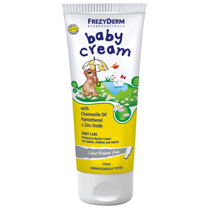 FREZYDERM Baby Cream, Κρέμα Αλλαγής Πάνας - 175ml