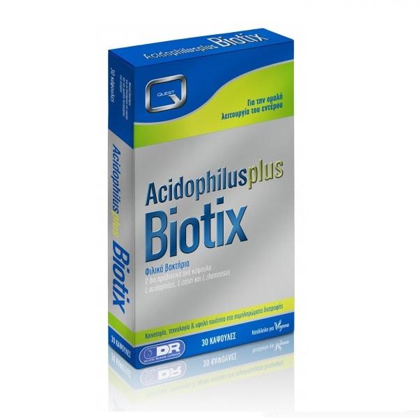 QUEST Acidophilus Plus Biotix - 30Tabs