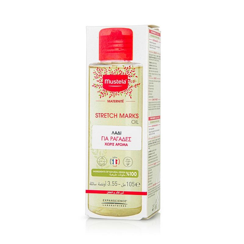MUSTELA Maternite Stretch Marks Oil, Λάδι Κατά των Ραγάδων - 105ml