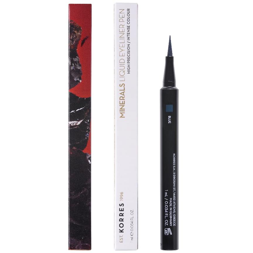 KORRES Minerals Αδιάβροχο Eyeliner σε μορφή μαρκαδόρου 03 Blue 1τμx